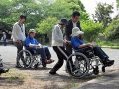 肢体不自由者ガイドヘルプボランティア講習会